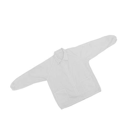H HILABEE Lab Factory Staubdichtes Tuch Arbeitsschutzanzug Lackieroverall Tasche - - Zip Gesicht Kostüm
