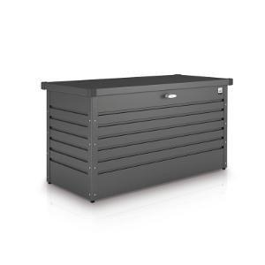 Biohort Freizeitbox Metallbox dunkelgrau-metallic 160 x 79 x 83 cm (Größe 160 HIGH)