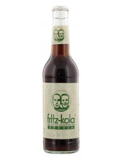 Fritz-Kola Stevia MW 0,33l mit Steviol-Glykosiden aus Stevia