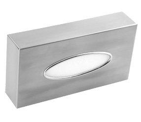 Mediclinics AI0985CS - Kosmetiktuchspender Kosmetikbox Edelstahl Kosmetiktücher-Box Als Tischspender Oder Wandmontage