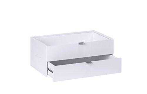 MAJA Raumteiler Wandregal Cableboard 6022 in Sonoma Eiche 220x186x40cm Bücherregal Wohnwand - 2