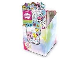Binney & Smith Crayola Creations álbum adesivoi Emoji Escuela Termas,, 63652622501