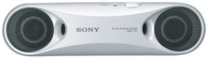 Sony SRST33SILVER Personal Travel Speakers Silver
