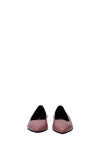 XXW0WW0N0506Y6M604 Tod's Ballerine Femme Cuir Rose Rose