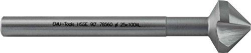 Preisvergleich Produktbild HSS-E Co5 XL-Kegel- und Entgratsenker 90°, ~ DIN 335 C mit 3 Schneiden, mit Zylinderschaft 100 mm EMU-Norm: XL Ø 8,3 x 100 mm