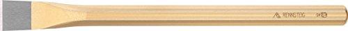 Rennsteig 352 1000 2 Ciseau de maçon octogonal laquée avec protection manuelle, 1000 mm, Or/rouge