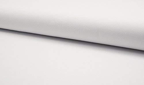 Luxuriös 100% Baumwolle schwer Leinwand Stoff handwerk-material - weiß - Weiß, 1/4Mtr 75cmx50cm