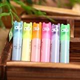 fendii Lovely Ninja Mini Fluorescent surligneur stylo marqueurs 6 couleurs