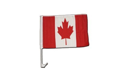 Flaggenfritze Autofahne Autoflagge Kanada - 30 x 40 cm (Autofahne Kanada)