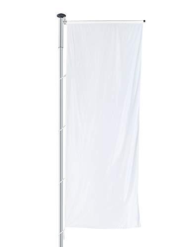 """Fahnenmast Alu \""""JUIST\"""" mit Ausleger, 5?10m, abschließbar, 6 Meter, 75mm, einteilig"""