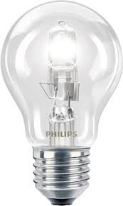 Philips Ampoule halogène GLS X12 à vis ES E27 Edison Basse consommation Compatible variateur d'intensité 70 W = 92 W 220-240 V