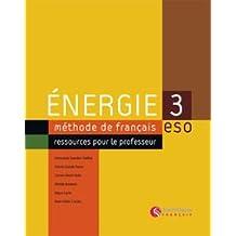 Energie 3 Livre Professeur - 9788429498844