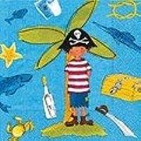 Tovaglioli Little Pirate 33x33 cm 20pz Pirata
