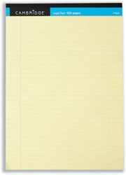 cambridge-everyday-a4-legal-pads-yellow-pack-of-10