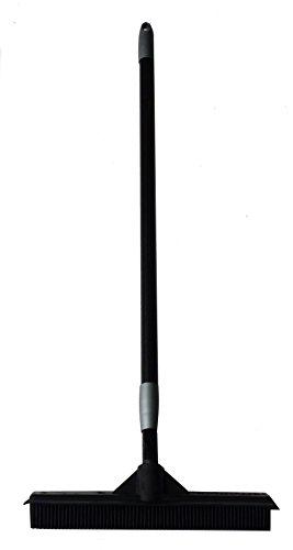 EXCOLO Gummibesen Frisuerbesen Haarbesen Noppenbesen aus 100% Natur-Gummi Feger Schrubber Abzieher Stiellänge einstellbar 70 cm 150 cm Original SQUEEPER von SWEEPA