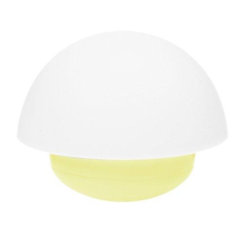 Demiawaking touch sensore notte luce tumbler fungo USB atmosfera camera da letto notte lampada (Notte Bagno Luce Decor)