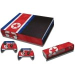 RISHIL WORLD North Flag Pattern Decal Stickers for Xbox One Game Console
