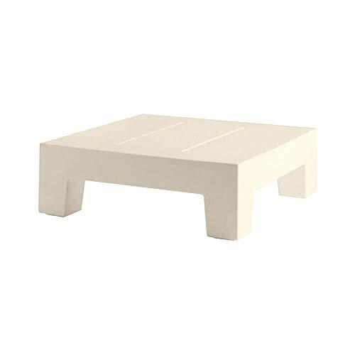 Vondom Jut Table Basse pour l'extérieur écru pour Chaise Longue