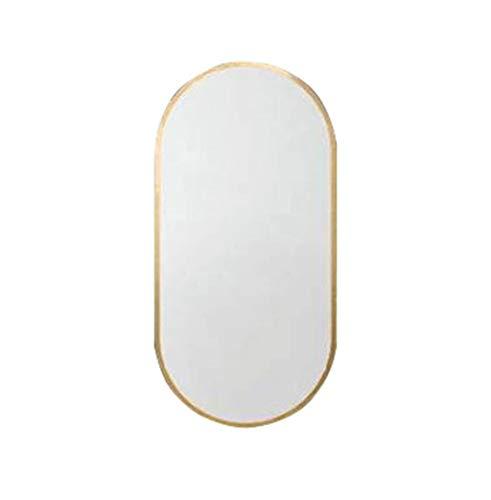 Specchi per il trucco specchio a parete per specchio da bagno | specchietto da trucco e da trucco vanity a parete circle | specchio circle plane | specchio decorativo moderno | montatura in metall