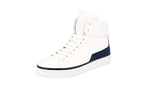 Prada 3T6025, Damen Sneaker, Bianco Baltico - Größe: 39.5 EU