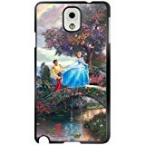 Cinderella Samsung Galaxy Note 3 caso case,Disney Cinderella Samsung Galaxy Note 3 Nero caso case [Scratch proof] [Drop Protection]