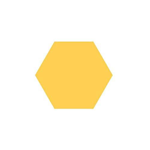Anti-Lärm Wohnzimmer dekorative Wand-Aufkleber, Filz Farbe Hexagon Vorstand Durable Nicht verformt Hexagon Vorstand 13.5CM Filz * 12cm * 7cm Haushaltsprodukte ( Color : #6 )