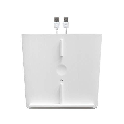 DokFin Kabelloses Ladegerät Laden Mittelkonsole Für Tesla Model 3 Zubehör Wireless Charge, Ladestation 10W Wireless Charging Pad Mit Zwei USB-Anschlüssen, Innen-Ladestation Für Die Mittelkonsole