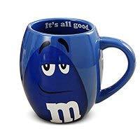 sse, niedlich, beste Tasse für Kaffee, Tee, heiße Schokolade und mehr, Fassungsvermögen: 600 ml, lustige Tasse für Halloween, Bar-Trinkgeschirr, Geschenk von PPH3 Shine blau ()