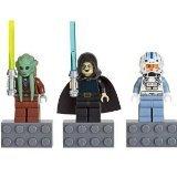 LEGO Star Wars - 3 Minifiguren - Kit Fisto, Barriss Offee, Captain Jag