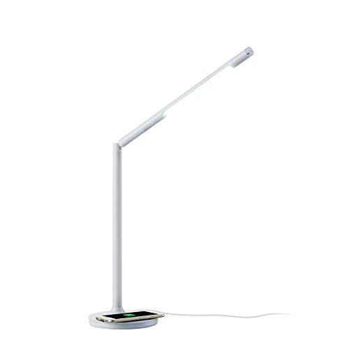 Zx lampada da tavolo girevole wireless a 360 ° per apple x / 8 / plus samsung s8 / 7 / note8 wireless