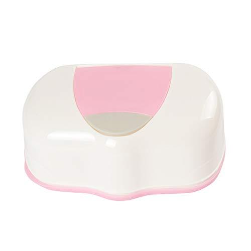 Ruiting Limpie bebé Caso Titular Caja de Tejidos toallitas de plástico Dispensador de pañales de hidromasaje Organizador Caja de toallitas húmedas portátil