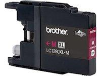 Preisvergleich Produktbild Brother Original XL-Tintenpatrone LC-1280XLM magenta (für Brother MFC-J5910DW, MFC-J6510DW, MFC-J6710DW, MFC-J6910DW)