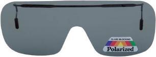 Montana Eyewear Sonnenglasvorhänger/Brillenclip für Brillen zum hochklappen mit grau getönten Gläsern