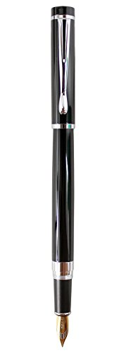 Cada pluma se hace a mano meticuloso bajo normas de ensayo muy estrictas, lo que garantiza la calidad de cada parte de la pluma, sistema de tinta líquida avanzada y plumín único garantizan una escritura suave, diseño especial hace que la pluma elegan...