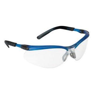 3M BX Schutzbrille mit Ocean Blau Nylon Rahmen und klar Polycarbonat Anti-Fog Objektiv