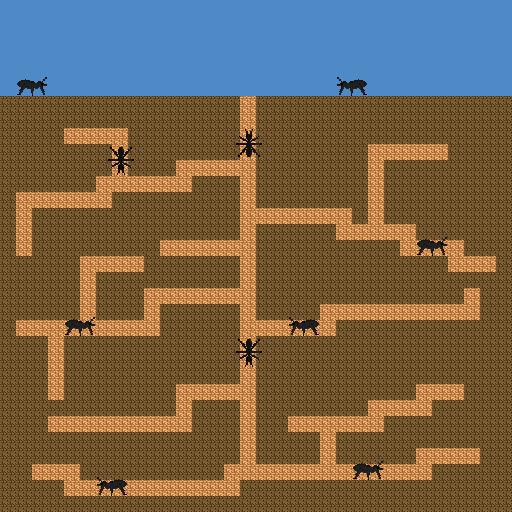 Ameisenkolonie