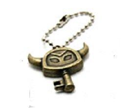 Legend of Zelda Triforce 2 Metal Item Collection~Key~25mm H