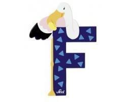 Sevi Alphabet Buchstaben Graffiti Animal, Buchstabe Flamingo F
