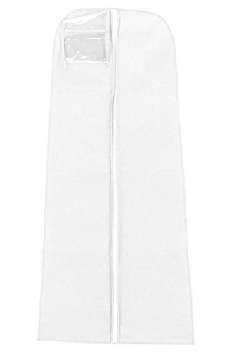 Vinsani Kleidersack zur Aufbewahrung des Hochzeitskleids, ca. 182cm, atmungsaktiv, wasserdicht,...