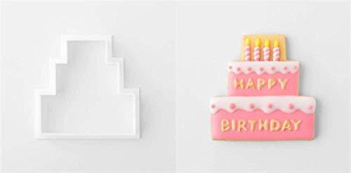 GCCI 8 piezas Hello Kitty Diy Plastic Fondant Cutter Cake Mold Fondant Mold Fondant Cake Decorating...