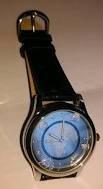 Preisvergleich Produktbild Armbanduhr zur 5 Euro 2016 Münze blauer Planet Erde exklusiv