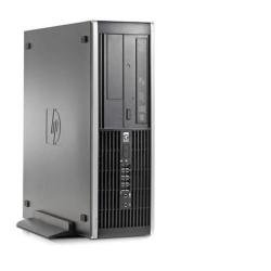 HP Compaq Elite Desktop 8000Elite Small Form Factor PC (Energy Star) Desktop-PC (3160MHz, Intel Core 2Duo E8500, 2048MB, 4DIMM, SDRAM) schwarz