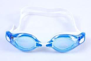 jsauwi Swim Goggles Swimming Goggles Adult Swimming Glasses Comfortable and Anti-Fog, Blue 200°