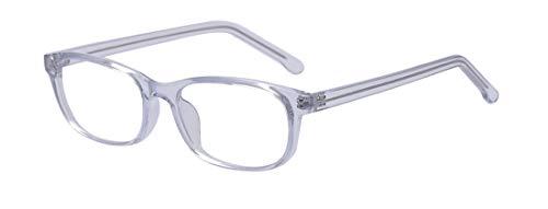 Outray Blaues Licht blockieren Brille Platz Nerd Brillengestell Anti Blue Ray Computerspiel Brille Klar Weiß