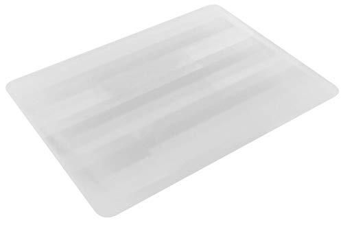 Floordirekt PP Bodenschutzmatte - 5 Größen zur Wahl - Bodenschutz für Teppich und Teppichböden