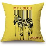 Preisvergleich Produktbild Uloveme The Zebra Pillowcase Of ,20 X 20 Inches / 50 By 50 Cm Decoration,gift For Bedroom,deck Chair,monther,her,couples,office (each Side)