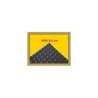 Pyra 2500, aprox. 50x 50x 2,5cm, Antracita Negro (unidad del paquete = 80placas = aprox. 20m²)