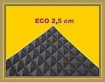 PYRA 2500  APROX  50X 50X 2 5CM  ANTRACITA NEGRO (UNIDAD DEL PAQUETE = 200PLACAS = APROX  50M²)