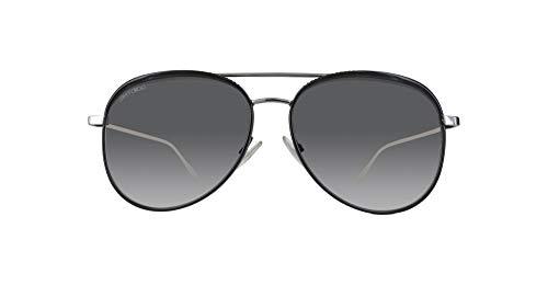 Jimmy Choo Damen MONTIE/S V7 18Q 64 Sonnenbrille, Pink (Nudeglttr Gd/Bluee Ar),