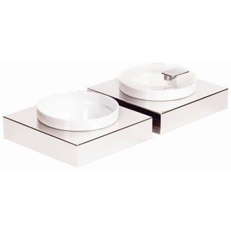 APS Cadres gc922 carrée en acier inoxydable Buffet Petit Boîte, Bol
